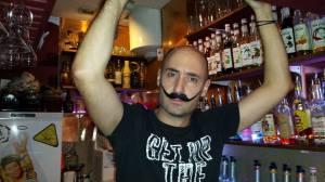 Baptiste et sa belle moustache